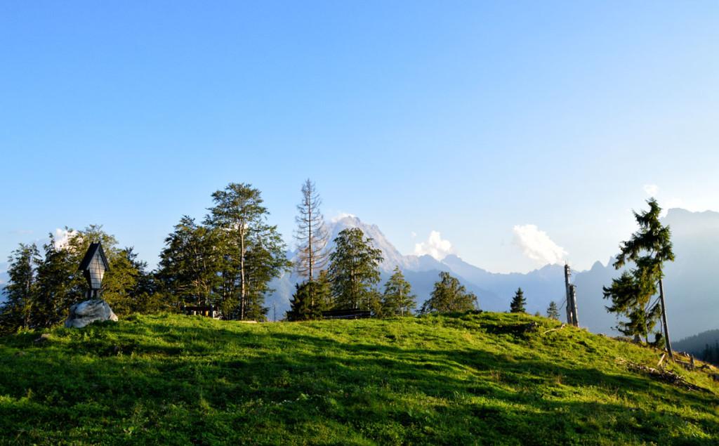 Blick über den Götschenkopf zum Watzmann