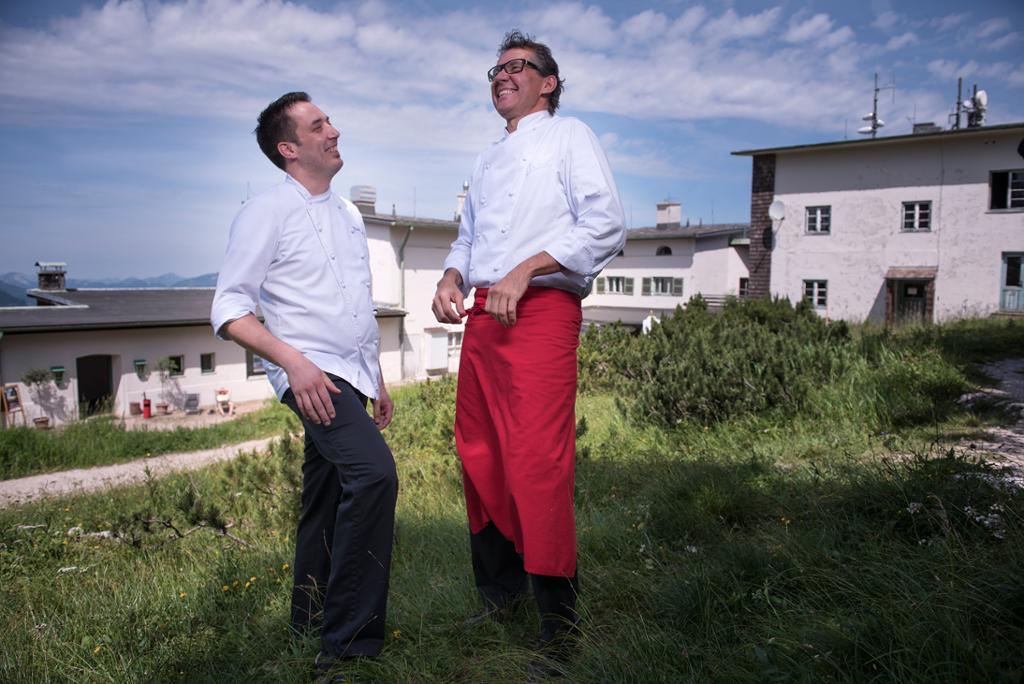 Michael Daus und Reinhold Thalhammer, das Chefkoch-Duo auf dem Predigtstuhl © Predigtstuhlbahn Bad Reichenhall