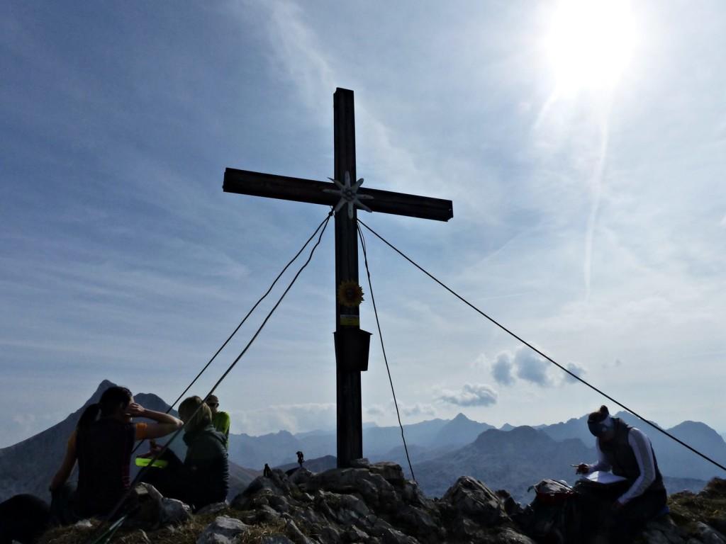 Gipfelkreuz Seehorn © Ann-Kathrin Helbig