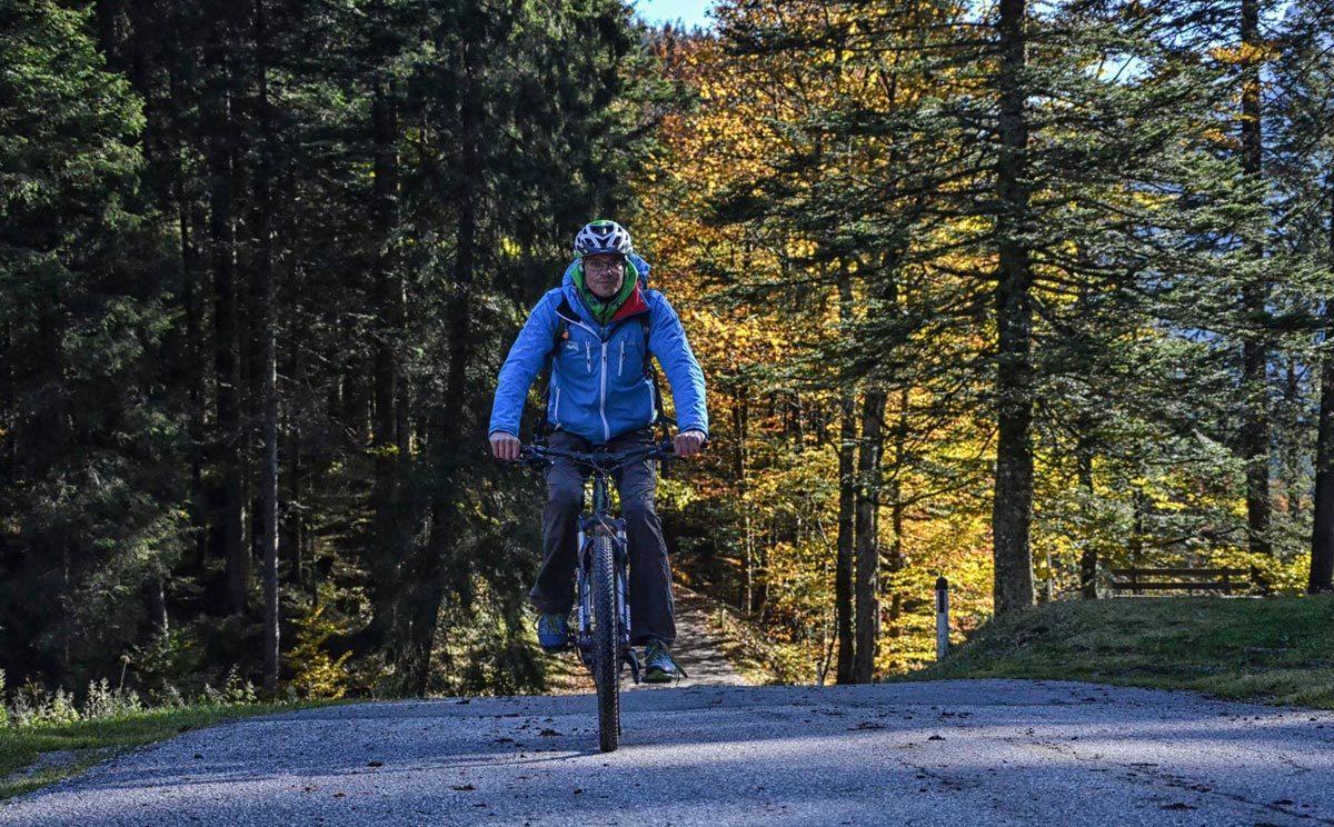 Herbst-Radltour mit dem E-Bike