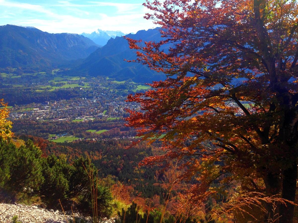 Der farbenprächtige Herbst zeigt sich von seiner besten Seite