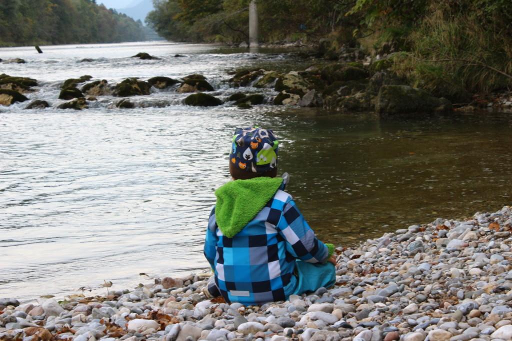 Wasser ist immer wieder spannend für die Kinder