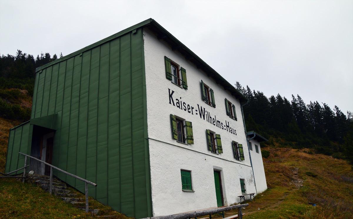Das Kaiser Wilhelm Haus auf der Zwieselalm