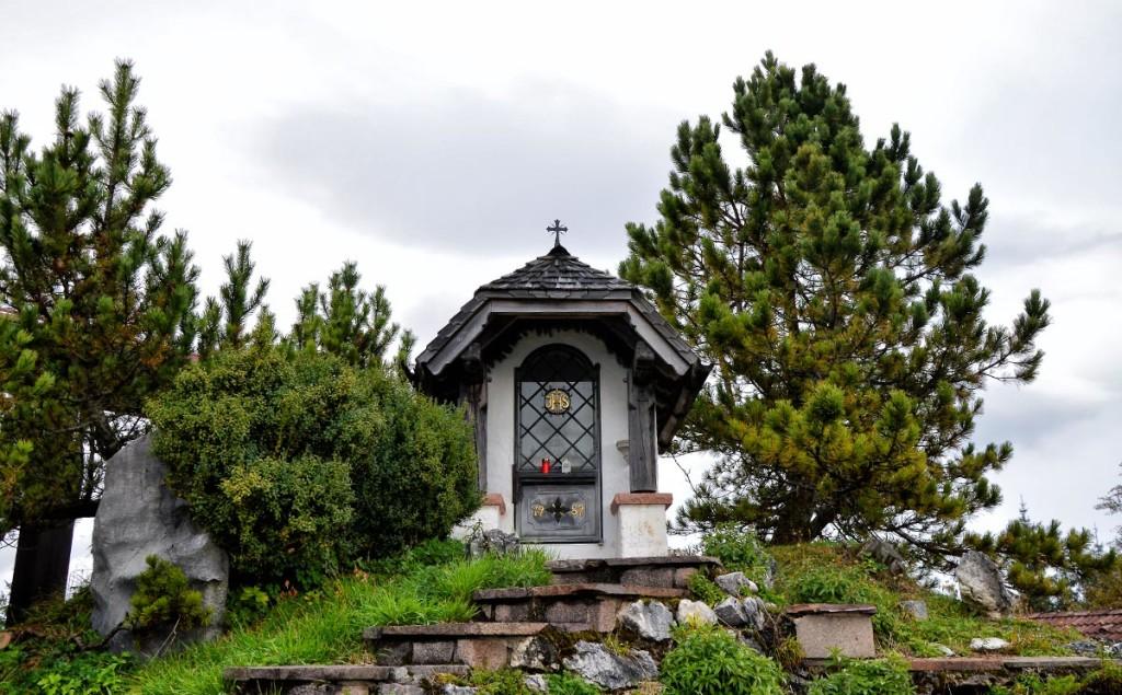 Die Kapelle auf der Kneifelspitze