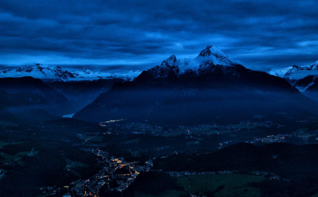 Nacht über Berchtesgaden