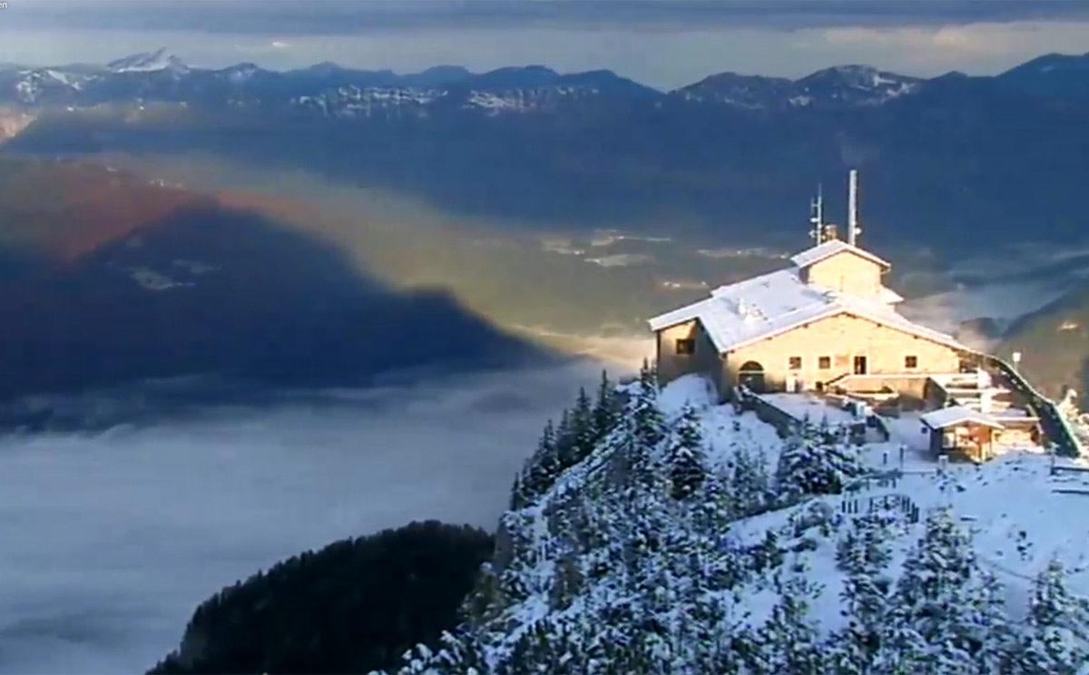 Webcam Bild: Heute morgen am Kehlstein