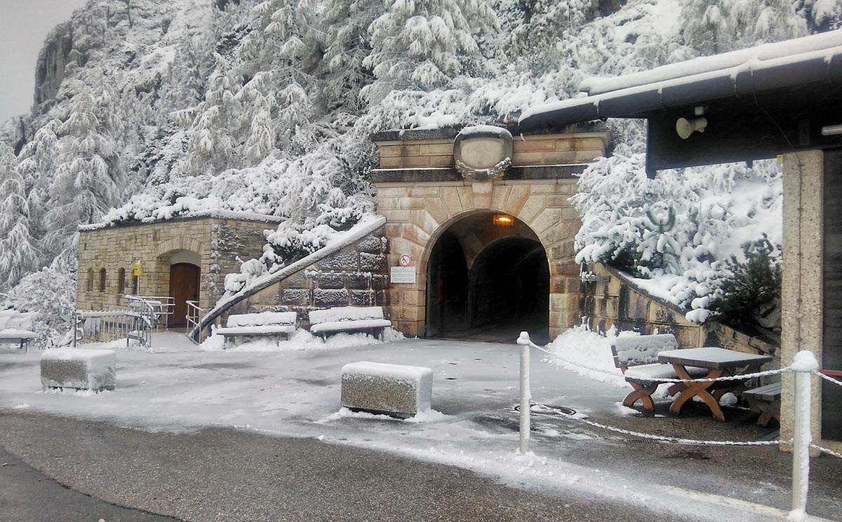 Wintereinbruch auf dem Kehlstein