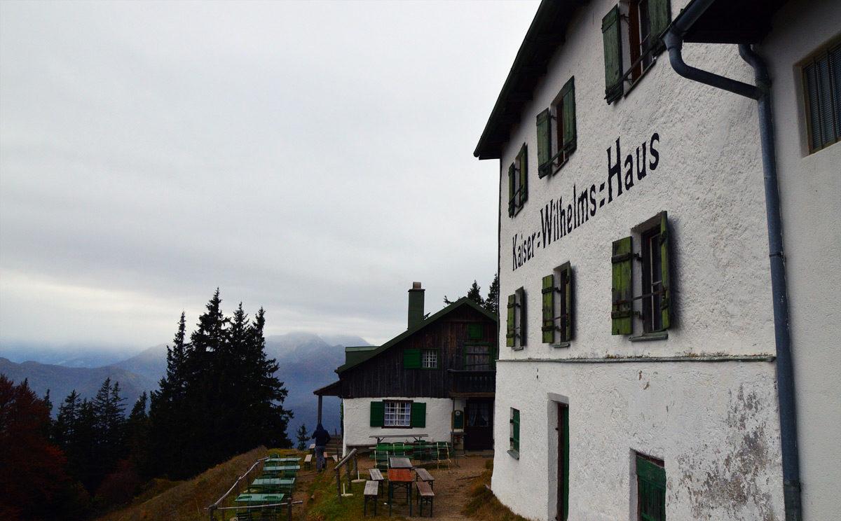 Zwieselalm und Kaiser Wilhelms Haus