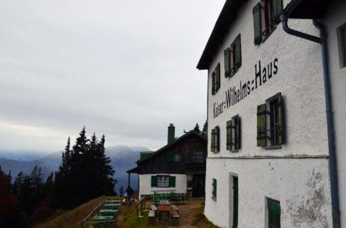 Zwieselalm und Kaiser Wilhelm Haus