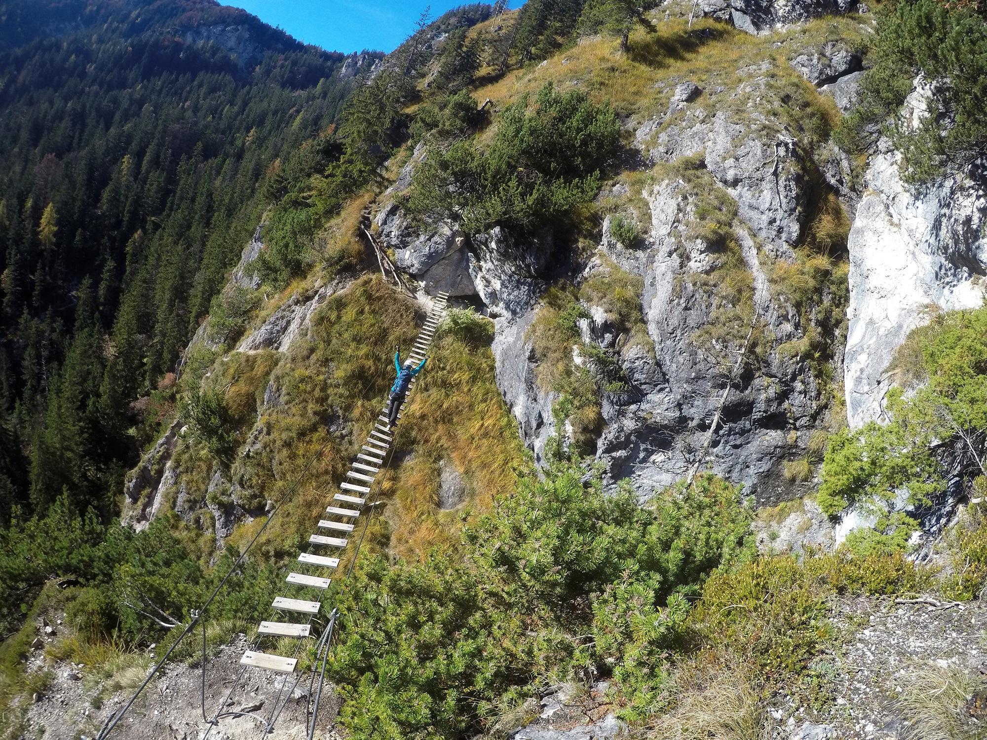 Klettersteig Croda Dei Toni : Klettersteig beschreibung montasch