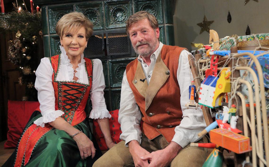 Carolin Reiber mit Kurt Becker als Anton Adner