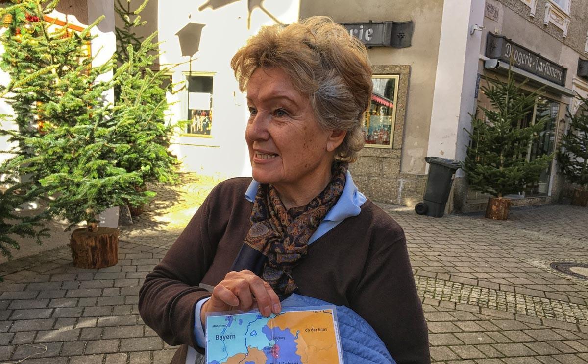 Gästeführerin Gabi Irlinger