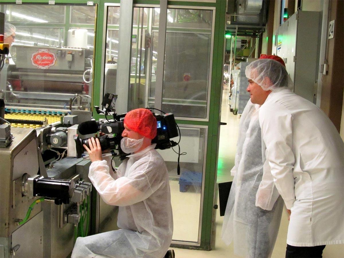 Galileo filmt bei Reber