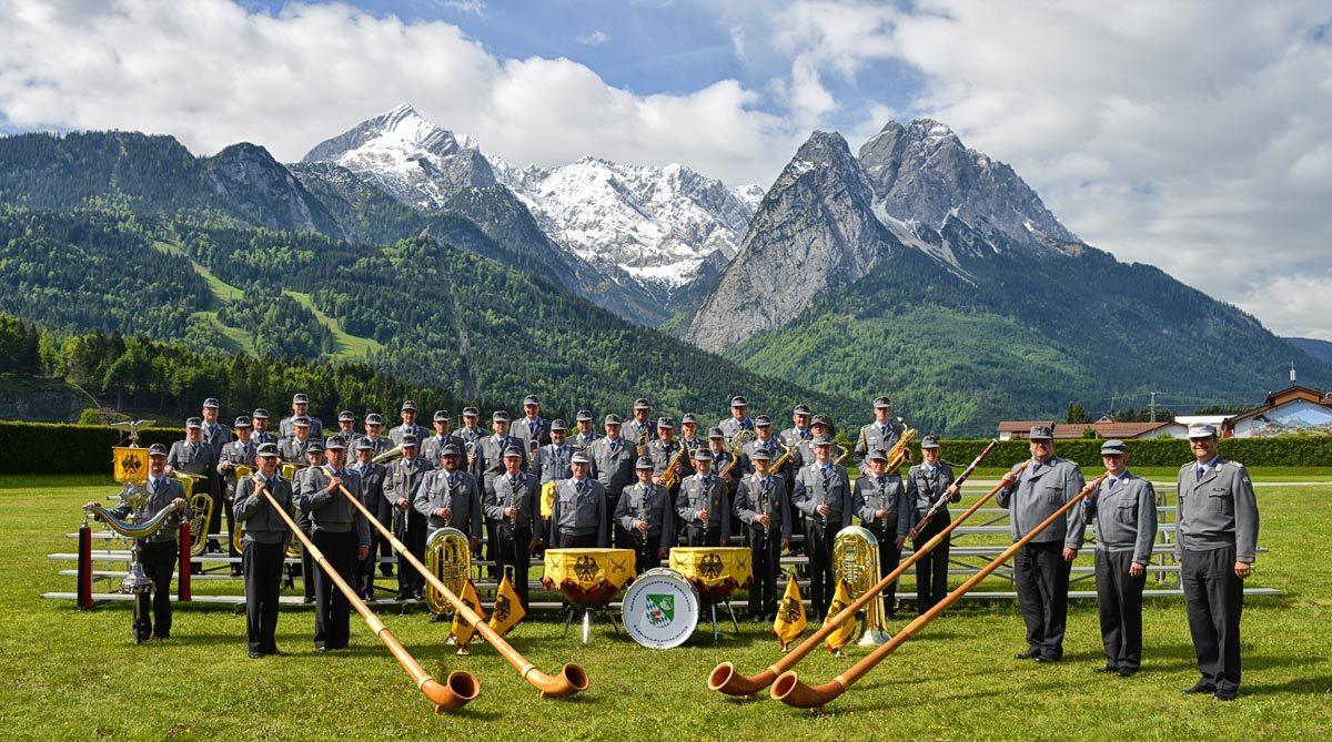 Das Gebirgsmusikkorps der Bundeswehr