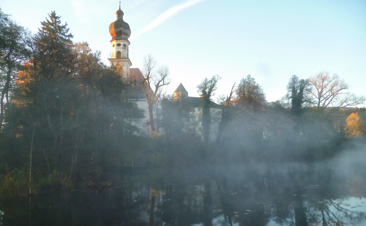 Herbst am Höglwörther See