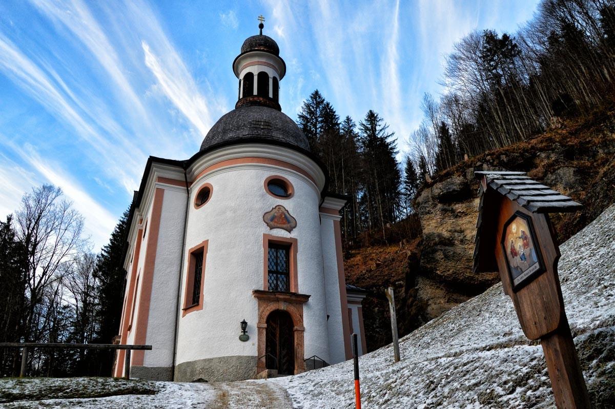 Die Kunterwegkirche Maria Himmelfahrt