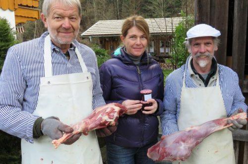 Claudia Richter, Josef Ponn (l) und Anton Wegscheider (r)