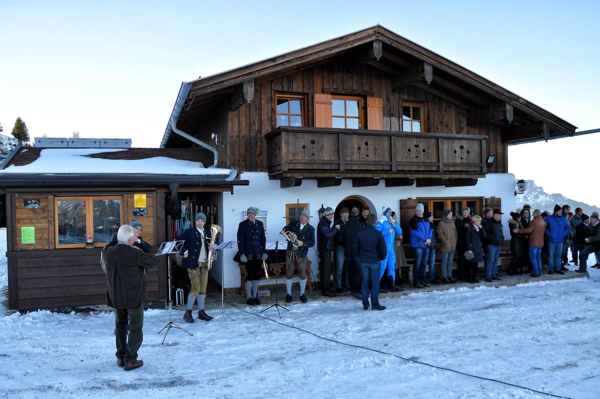 Feierliche Eröffnung des Tellerliftes am Rossfeld