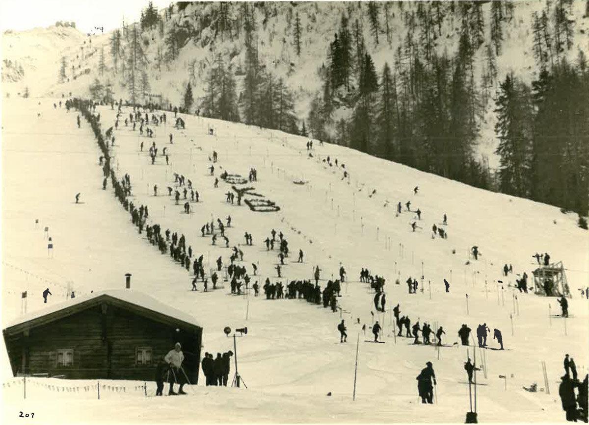 Der erste Ski Weltcup am Jenner 1967 © TRBK