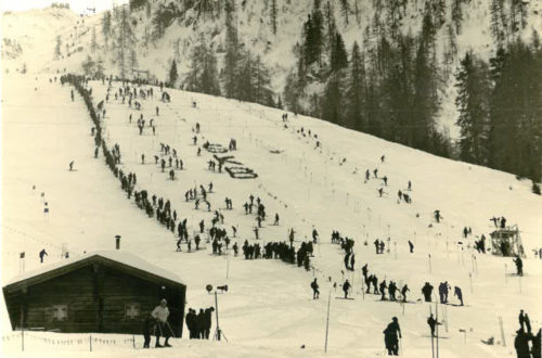 Der erste Ski Weltcup am Jenner 1967