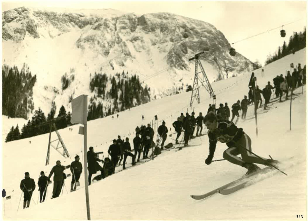 Ski Wletcup Slalom 1967 am Jenner © TRBK