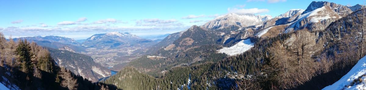 Das Berchtesgadener Tal, von Untersberg über Jenner und Brett bis zu den Hohen Rossfeldern
