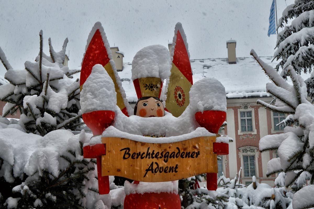 Holzfigur Berchtesgadener Advent