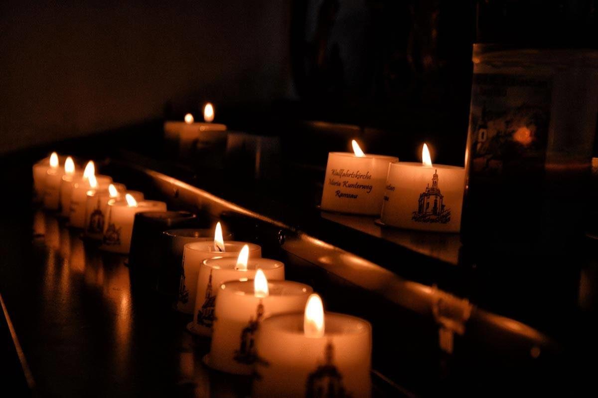 Ein Moment der Stille in der Kunterwegkirche