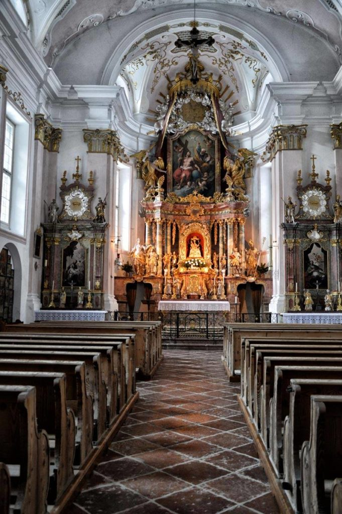 Ein kleines Juwel: Die Kunterwegkirche in Ramsau