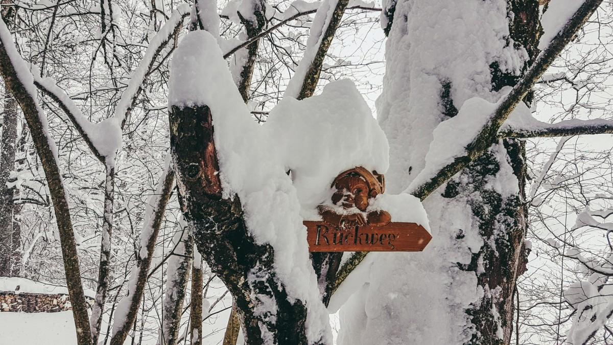 Winterwanderung am Märchenpfad Bischofswiesen
