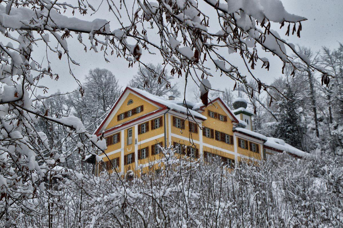 Schloss Fürstenstein Berchtesgaden Winter
