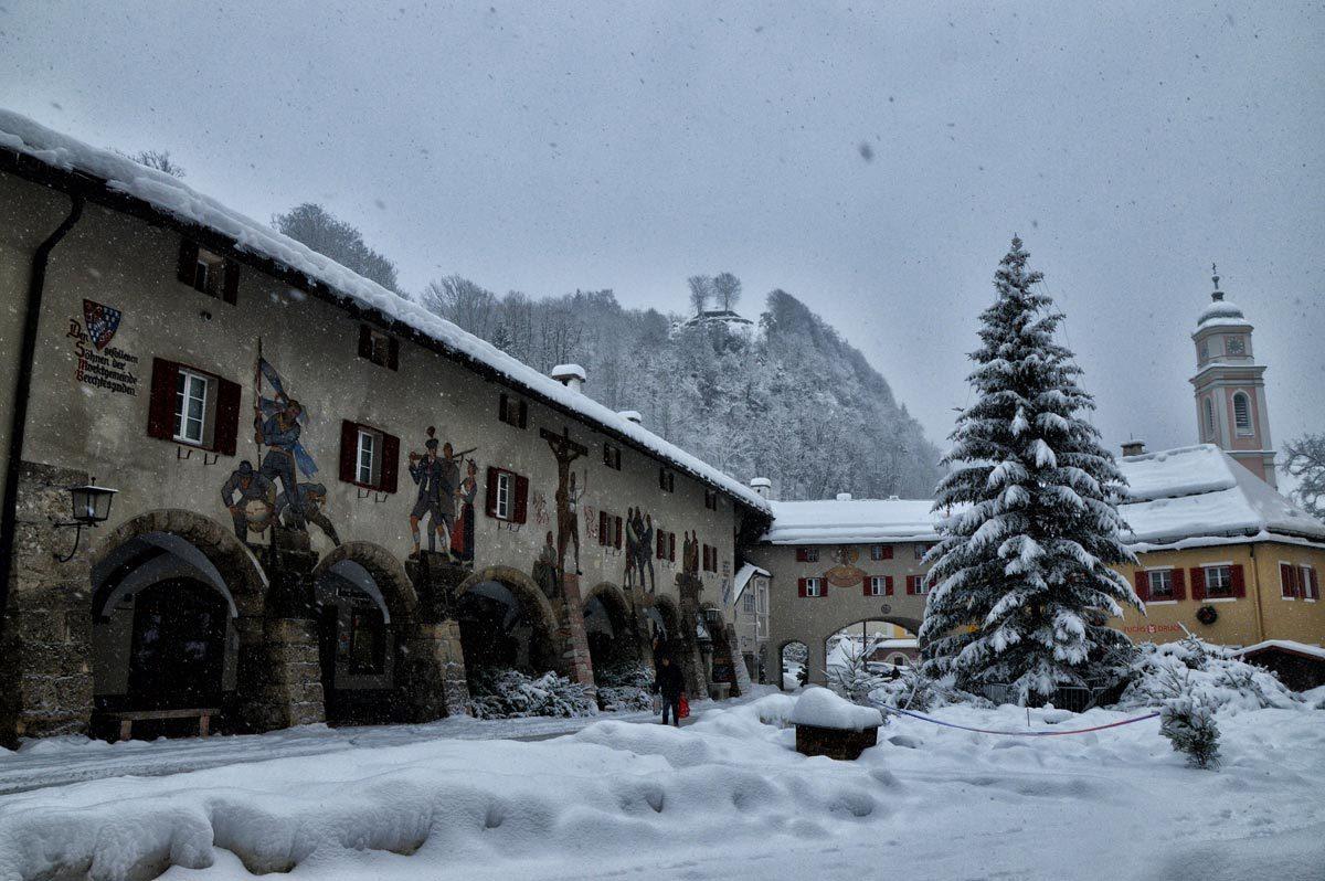 Die Schlossarkaden Berchtesgaden