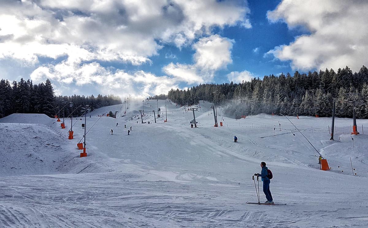 Das Skigebiet Götschen in Bischofswiesen