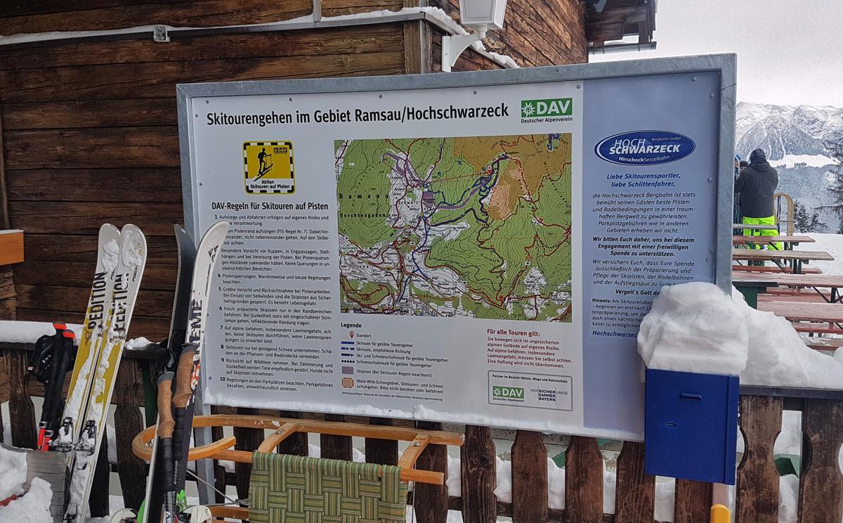 Spendenbox am Hirschkaser:Eine freiwillige Spende
