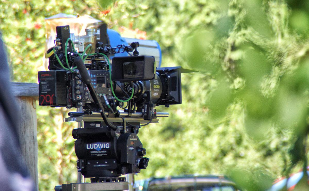 Arbeiten hinter der Kamera