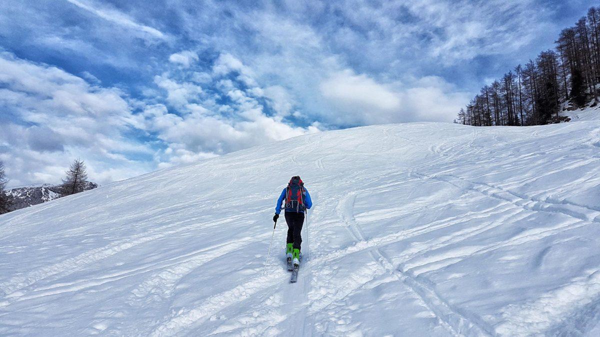 Skitour von der Priesbergalm zu den Hohen Rossfeldern