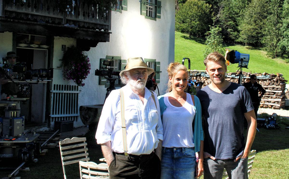 Dreharbeiten Lena Lorenz mit Fred Stillkraut, Patricia Aulitzky und Jens Atzorn