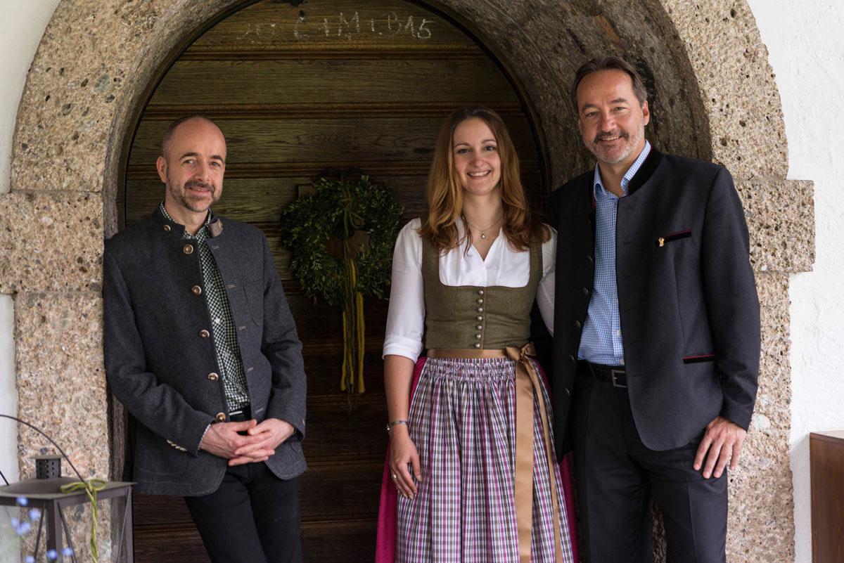 Franz, Stephanie und Johannes Lichtmannegger
