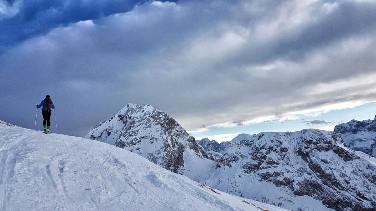 Skitour auf die Hohen Rossfelder