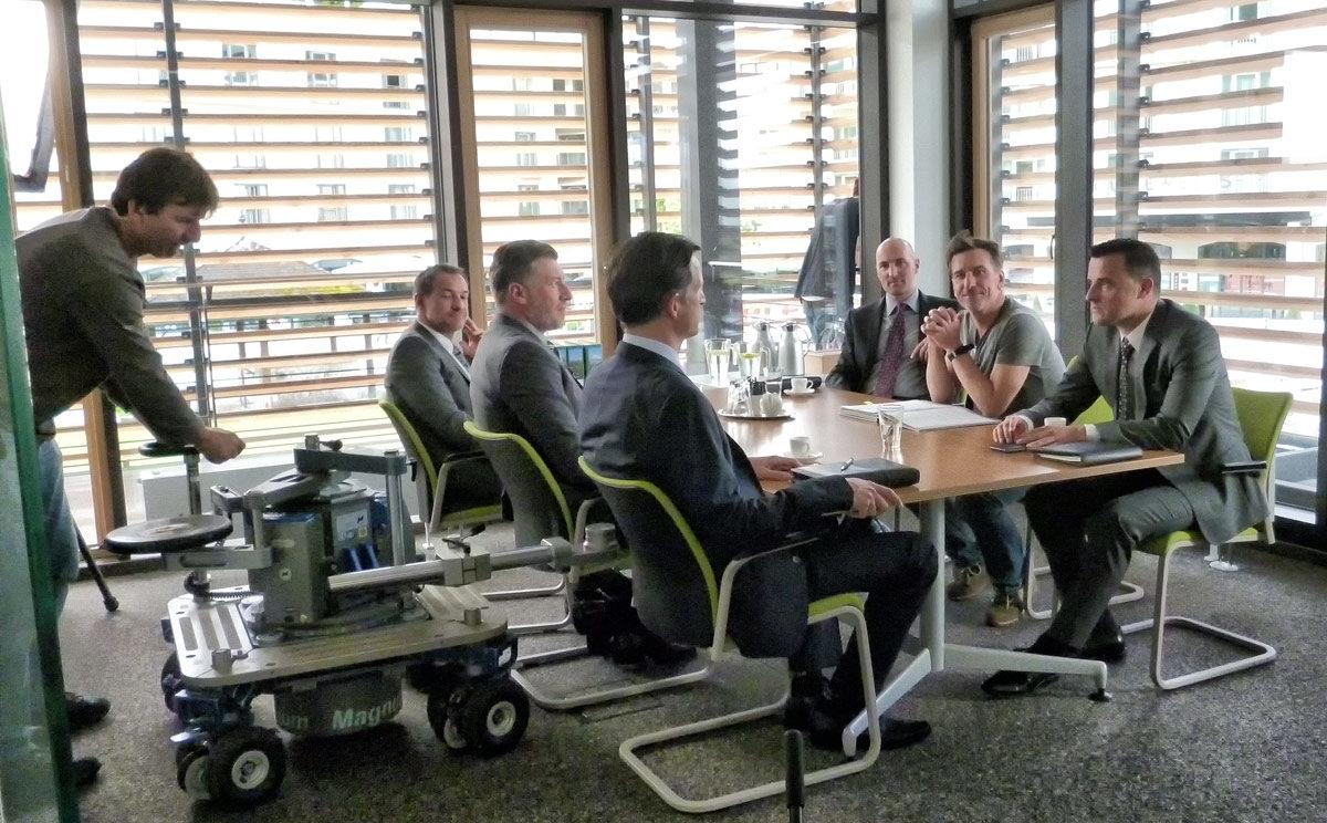 Dreharbeiten für Lena Lorenz in den Büros der Berchtesgadener Land Tourismus (BGLT)