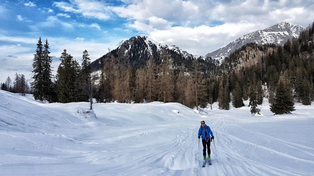 Skitour durchs Priesbergmoos
