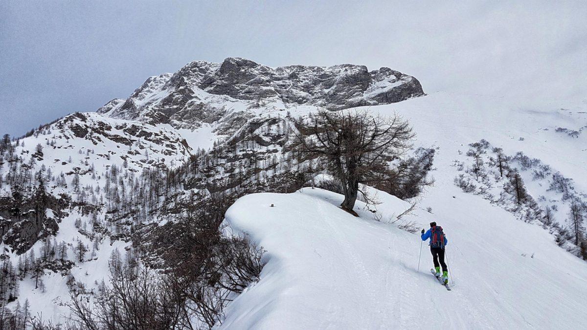 Am Grat entlang zun den hohen Rossfeldern unterhalb des Fagsteins