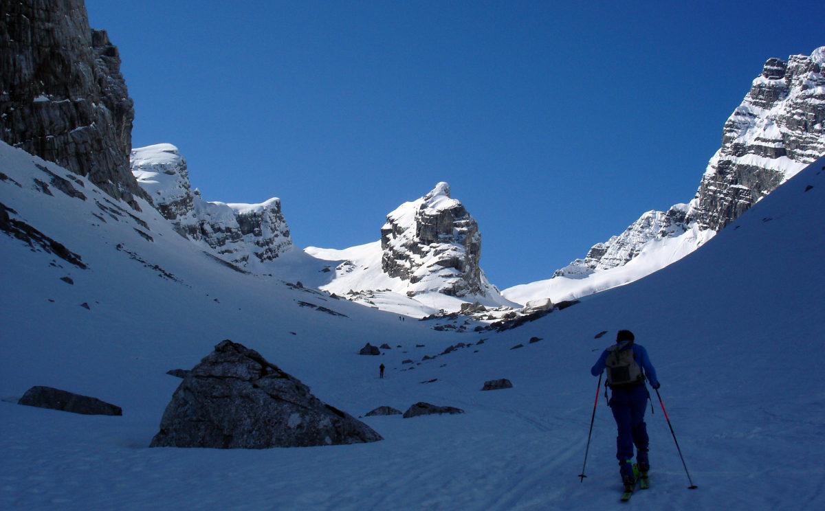 Skitour im Watzmann-Kar