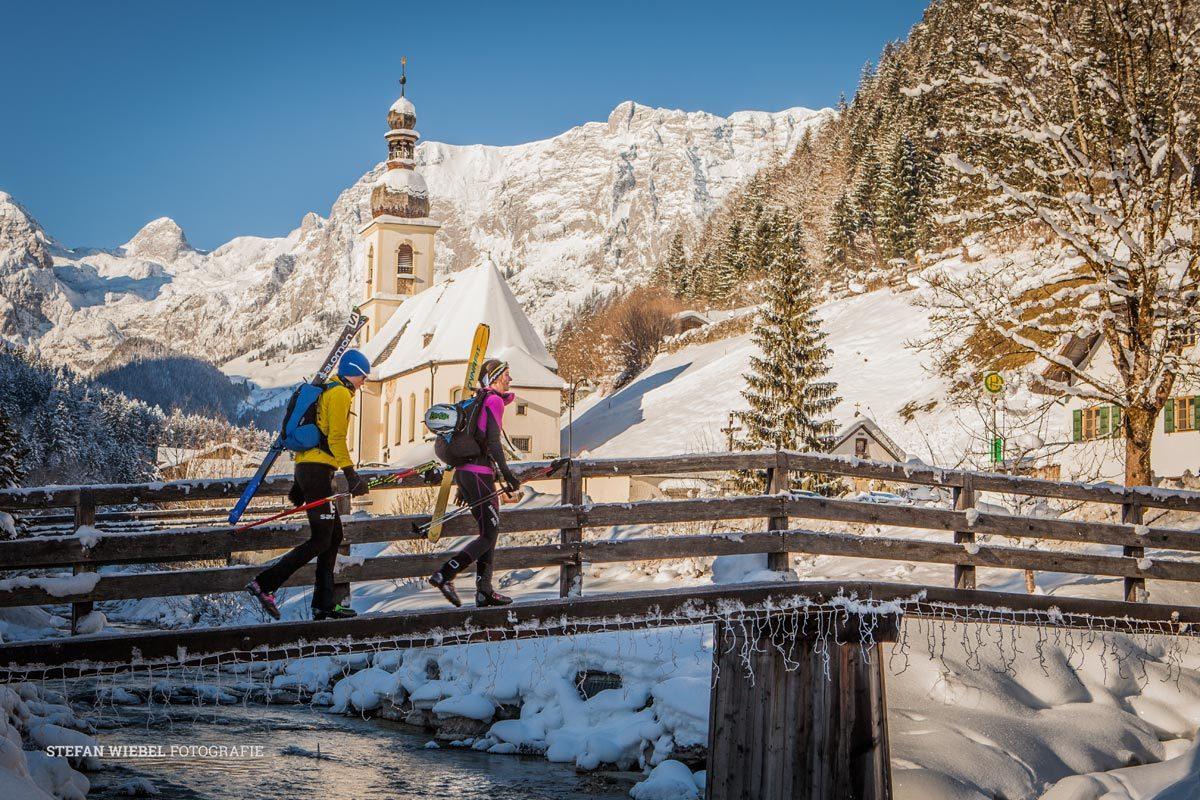 Das Bergsteigerdorf Ramsau: Paradies für Skibergsteiger