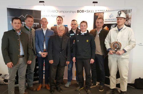 Sportlerpreis in elf Kategorien vom Salzbergwerk Berchtesgaden
