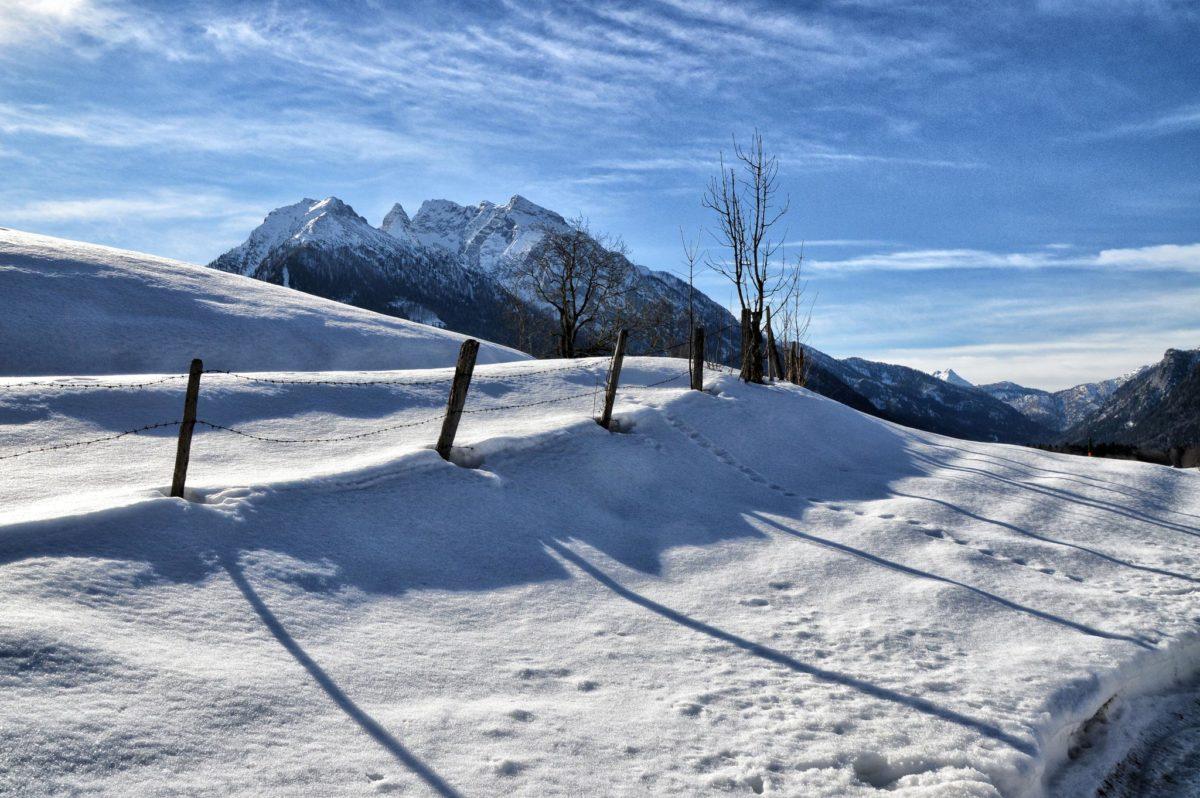Winterwanderung im Bergsteigerdorf Ramsau