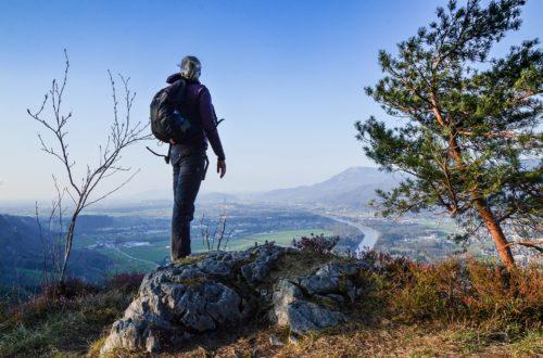Ausblick ins Salzburger Salzachtal
