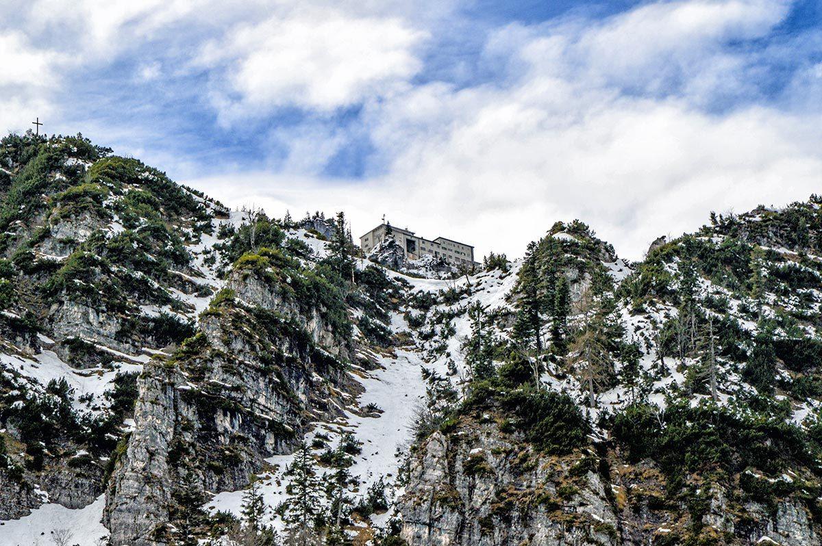 Die Bergstation der Predigtstuhlbahn