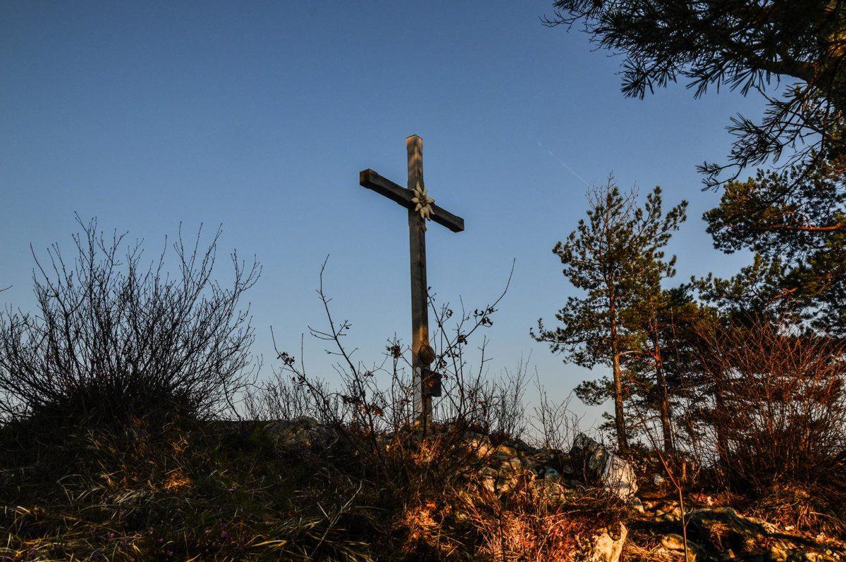 Das Gipfelkreuz auf dem Großen Barmstein