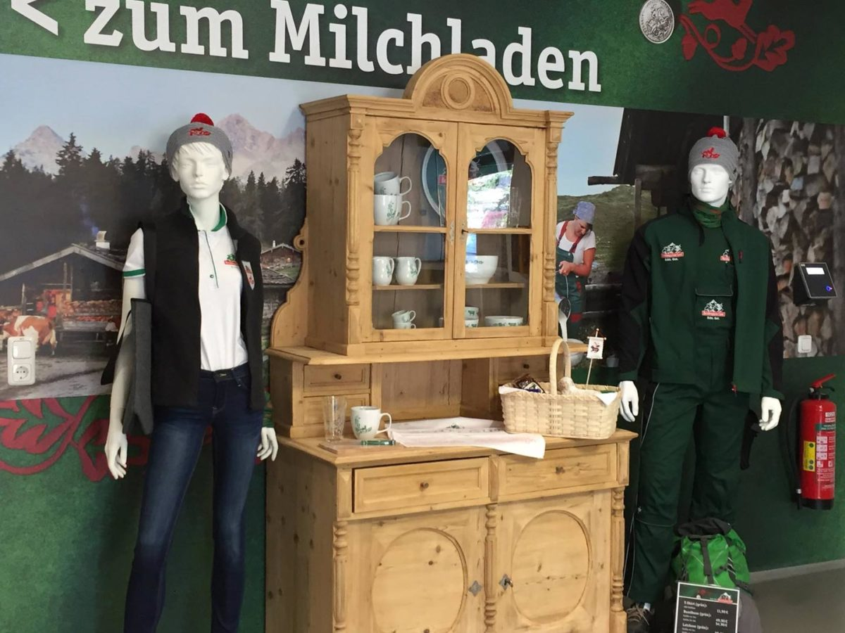 Der Milchladen der Molkerei Berchtesgadener Land | Bergbauernmilch